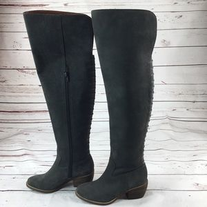 NWT Lucky Brand Khlonn Over the Knee Boot Size 5M